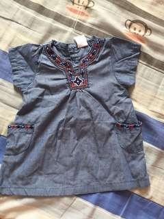 Baby blouse/ dress