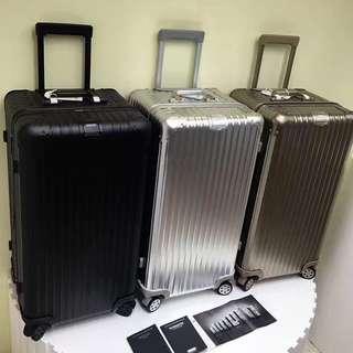 "34"" Salsa Sport Aluminium Alloy Scratch Resistant Luggage Rimowa inspired"