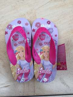 Barbie Rubber Slippers