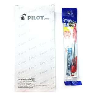 Pilot SHAKER 0.7mm Mechanical Pencil Assorted Colours 12pcs with Pencil Leads