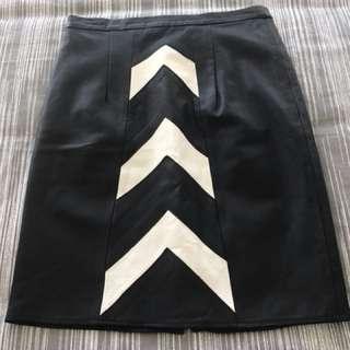 Jonte' Leather skirt size 12