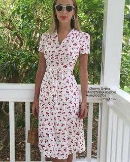 Cherry dress fits S-L