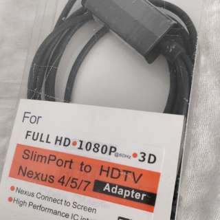 SlimPort  HDMI  Cable ( 線長約 1.5米 )
