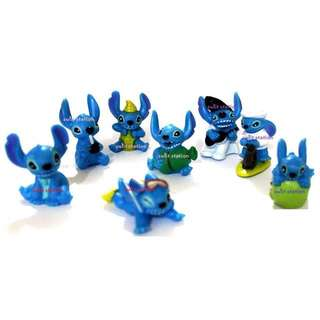 8pc LILO STITCH TOY FIGURES