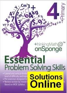 P4 Essential Problem Solving Skill