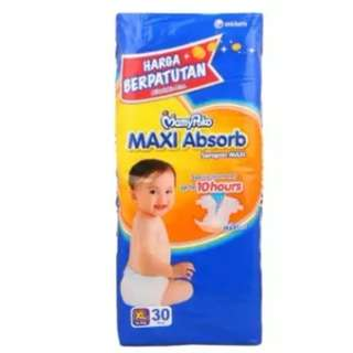 Mamypoko Maxi Absorb XL30 (3 pack)