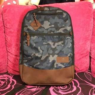 (減價)全新 high sierra backpack 藍色、灰色迷彩 多功能背囊 背包(多格數,有電腦格)