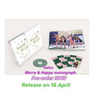 Twice merry & Happy monograph