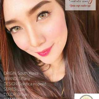 Contact Lenses by Tiffany only 300 per pair