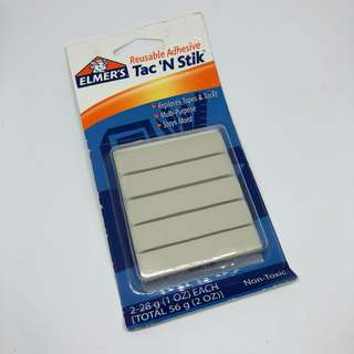 Elmer's Reusable Adhesive Tac 'N Stik