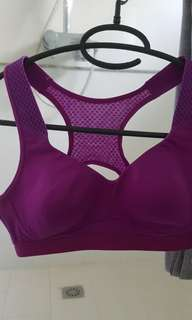 Marks & Spencer Bright Violet Sports Bra (34A)
