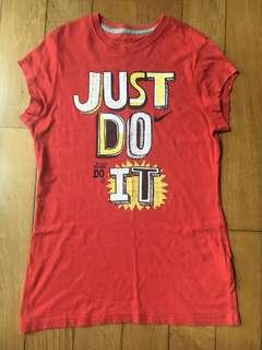 Nike Girls' Red Top sz XL