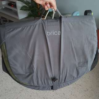 BRICA Fold & Go travel bassinet