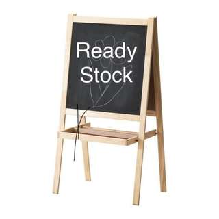 MALA Easel, softwood, white