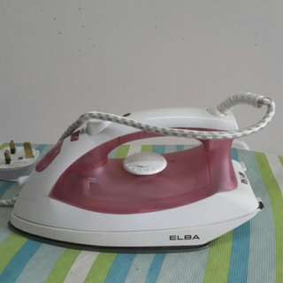 Elba Steam Iron (VALUE DEAL $$$)