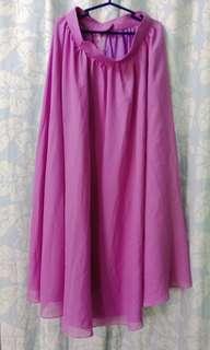 Cocktail long skirt