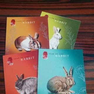 兔年明信片,郵票,電話卡(全部)