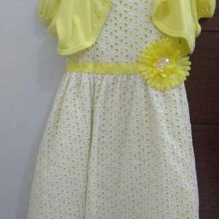 Sunday dress yellow