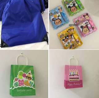 Goody bag, goodies bag gift, toy for children party
