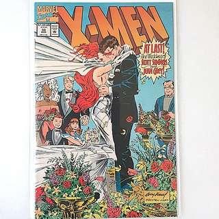 Marvel Comics X-men 30 Near Mint Condition Wedding of  Scott Summers and Jean Grey