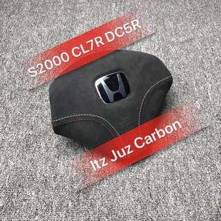 S2000 Alcantara Airbag Wrap