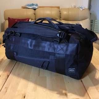 Porter / 黑色旅行袋 / 30L