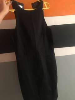 Fitted Black Formal Dress