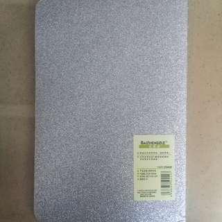 Baizheng Glittery Silver Notebook