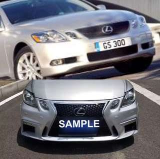 Upgrade 2009-2012 GS300 to F Sport