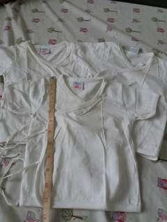 White infant tops