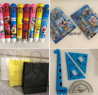 Goody bag, goodies bag packages, door gift, toy for kids party