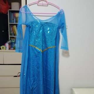 Frozen Elsa Customised Dress
