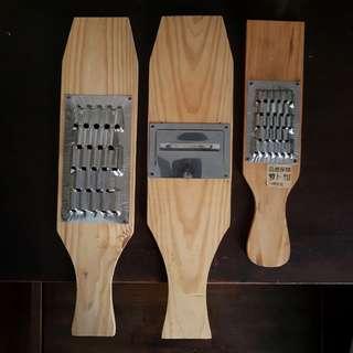 Instock Traditional Vintage Wooden Shredder