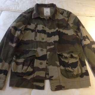 Jacket / Outer Bershka Army