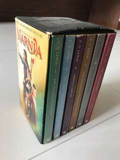 6 story books Chronicles Of Narnia now $3.50 each (RP $66 for 6)