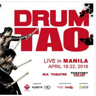 (Last Price!) DRUM TAO TICKETS