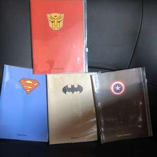 Super Hero / Avenger Notebook - Goodie Bag Item #easter20