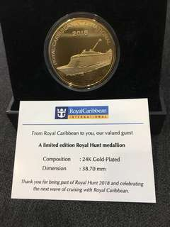 Limited edition royal hunt medallion