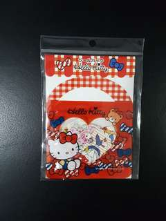 BN Hello Kitty Stickers (red)
