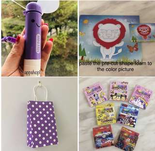 Children party goodies bag, goody bag toy/stationary/ gift