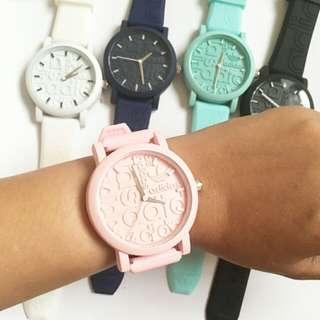 Pastel Adidas Watch