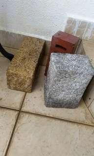Granite brick stone
