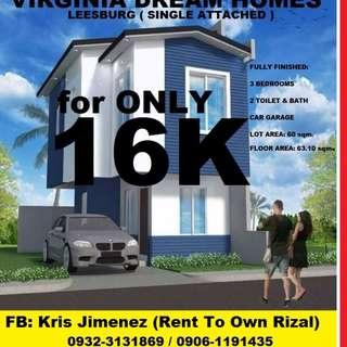 Virginia Dream homes Affordable single attached near Quezon city