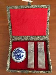 中國玉石印章 有雕刻姓名