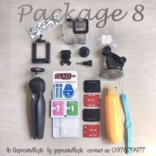 Package 8 (13 in 1) - Go Pro Accessories Bundle (Batch 2)