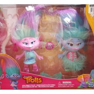 Preloved Toys: Trolls Satin and Chenille