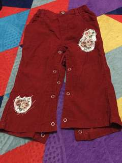 GUESS jeans corduroy for toddler