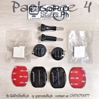 Package 4 (10 in 1) - Go Pro Accessories Promo Bundle Deals