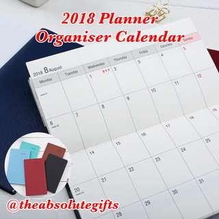 2018 Planner Organiser