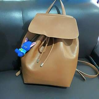 Repriced Brown Leather Bag